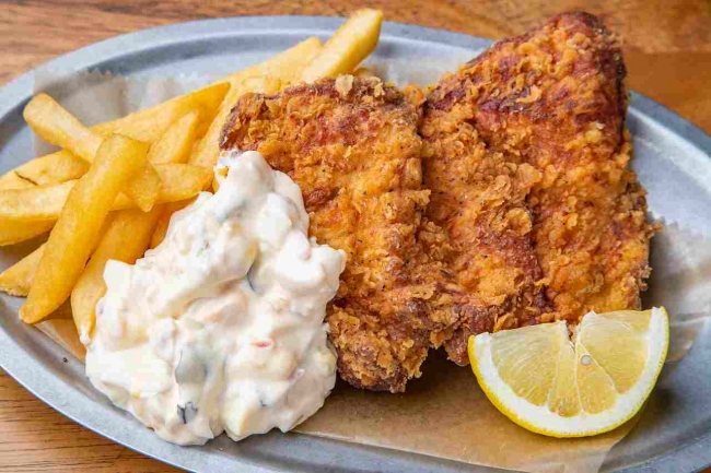 【金】大山鶏のチキン&チップス