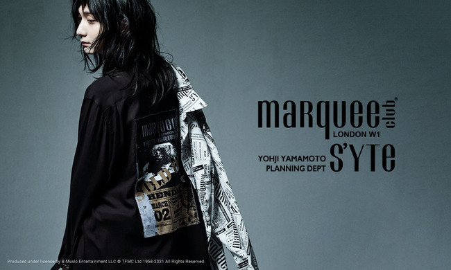S'YTE × marquee club COLLABORATE COLLECTION