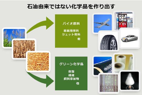 【GEI社のバイオ化学品製造】
