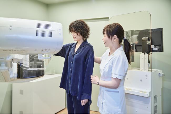 乳房検査(マンモグラフィ)