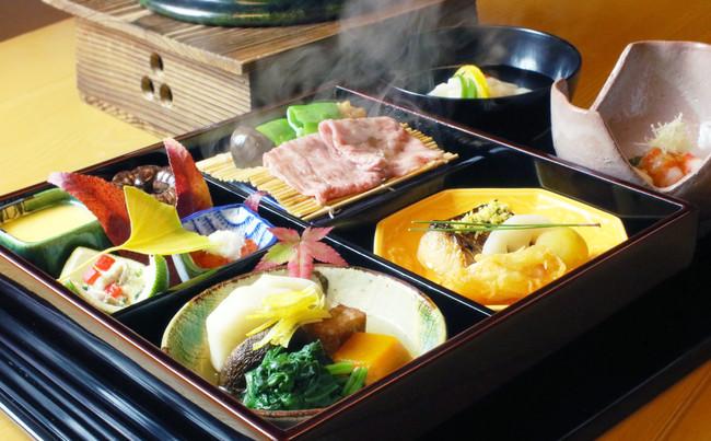 松花堂弁当イメージ ※内容は特別メニューとなります