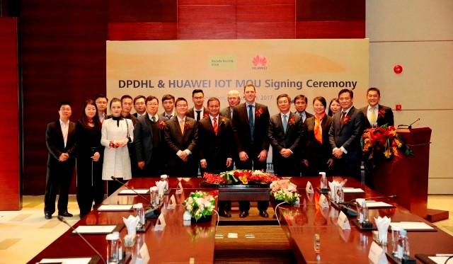 IoT 分野での協業に合意したファーウェイとドイツポストDHL