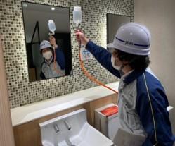 トイレへの施工