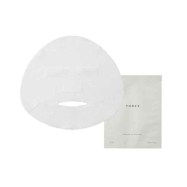 THREE バランシング スパ シートマスク 16mL×6枚 7,480円(税込) 原材料99%天然由来原材料 20%有機栽培