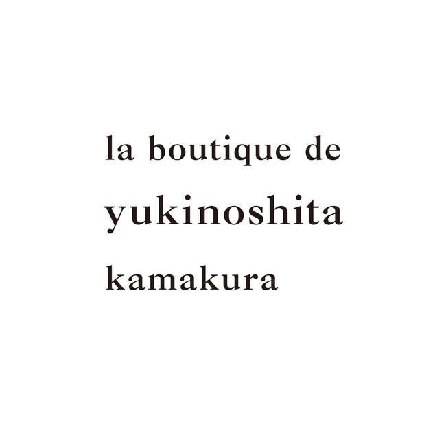 la boutique de yukinoshita kamakura ロゴタイプ