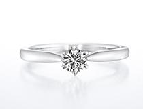 ホワイトリリー(婚約指輪)