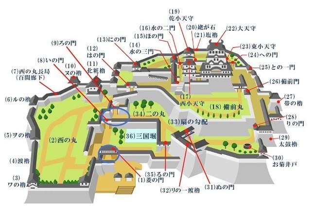 開催場所図