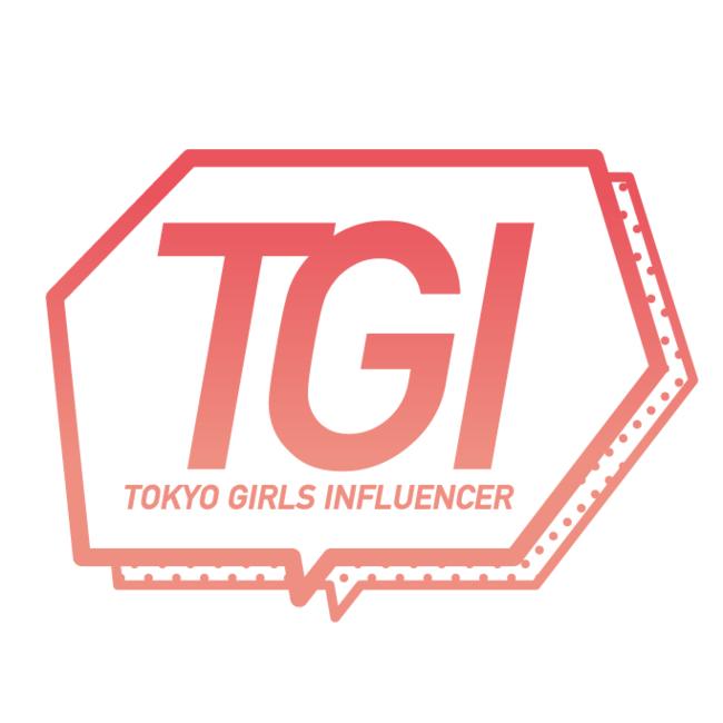 TOKYO GIRLS INFLUENCER ロゴ