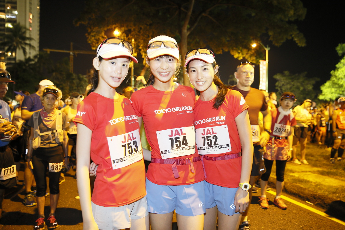 99e40e9f5307f TGCオフィシャルランニングチーム・TOKYO GIRLS RUN(TGR)出走!「JALホノルルマラソン2015」レポート|株式会社W TOKYO のプレスリリース