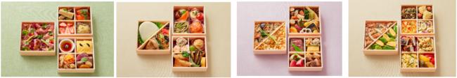 (写真左から)せいとう、小洞天、三冨魯久汁八、LA BONNE TABLE