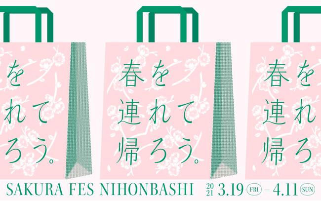 SAKURA FES NIHONBASHI 2021キービジュアル