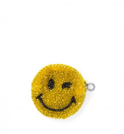 SMILEY(スマイリー) PL19SGJ231 W12 cm x H12cm 25,000円(税抜き) エナメルブラック×マスタードイエロー