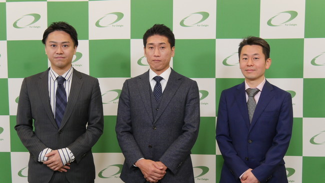 本取り組みの3社(左からDG、FD、ソニー)