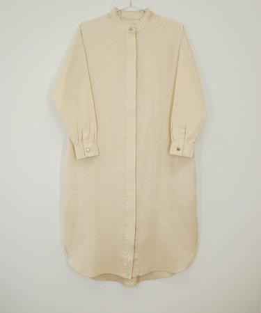 SHIRT DRESS(IVORY) ¥26,400(税込)数量限定