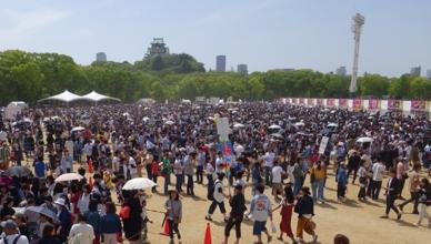 餃子フェス OSAKA 2017の様子