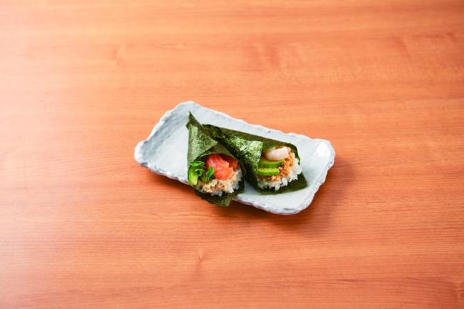 フムスの手巻き寿司