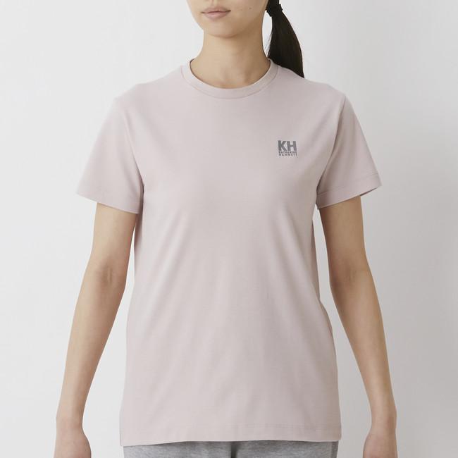 「トップバリュ キャサリンハムネット ベーシックTシャツ」
