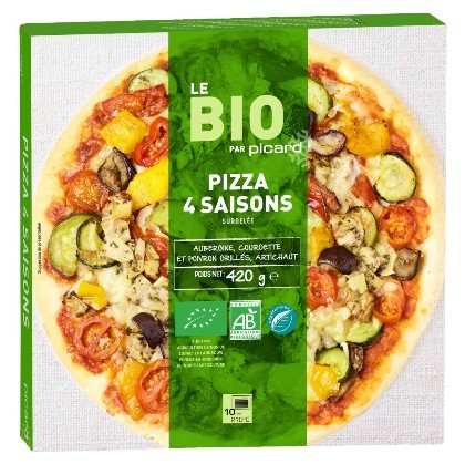 四季のBIO野菜のピッツァ