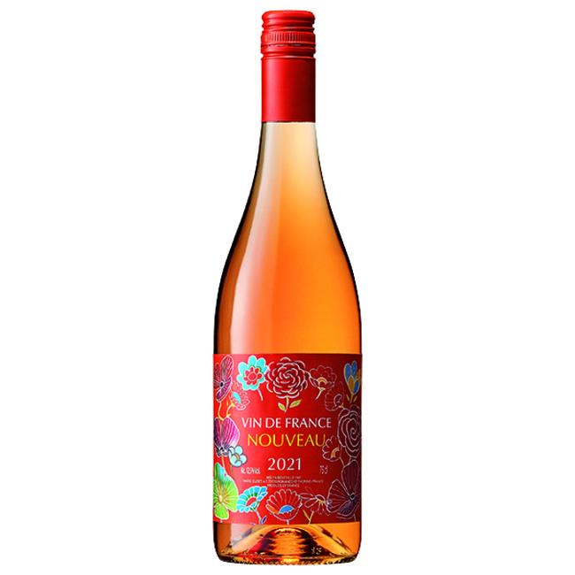 柑橘のオレンジで造ったワインではなく、白ワイン用ブドウを皮ごと仕込むことでオレンジ色になるオレンジワイン