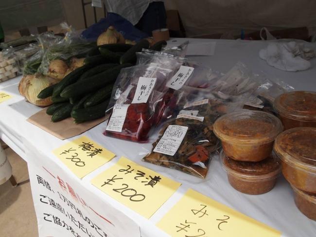 5月開催の「あがいんちゃ東北」風景~東北の物産を販売