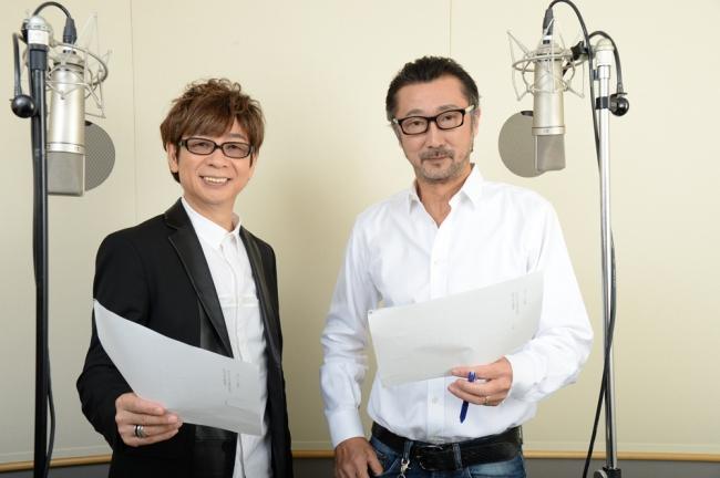 『マスク』のオモシロ番宣CMのナレーションで再び共演!