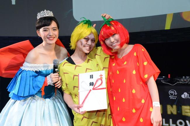 小島藤子が選んだ仮装はまさかのフルーツ!