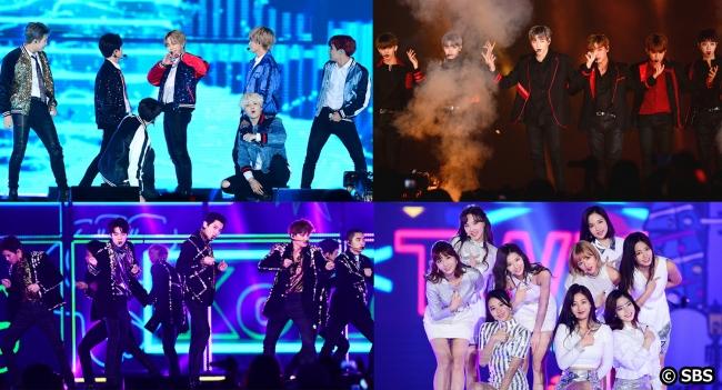 韓国からのクリスマスプレゼント「独占中継!2018 SBS歌謡大祭典」「女性チャンネル♪LaLa TV」
