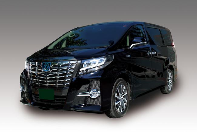 新型コロナ感染症対策の施された車を使用します。