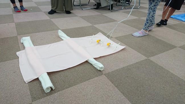 小学生が各自で工夫して製作したロボットは足の本数や長さもオリジナル