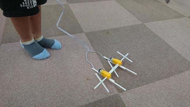 小学生ロボコンで製作したロボット