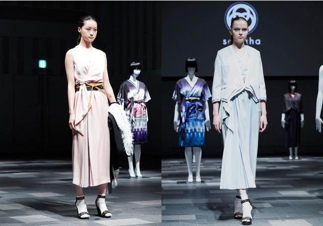 Rakuten Fashion Week TOKYO 表参道スペースOにてプレゼンテーションの模様