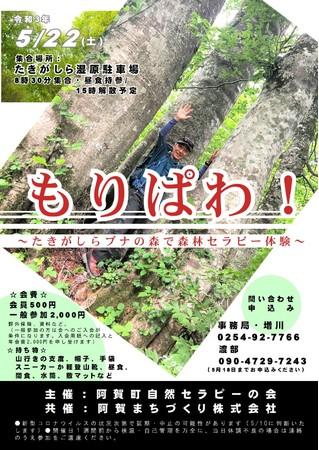 5/22開催:もりぱわ!チラシ
