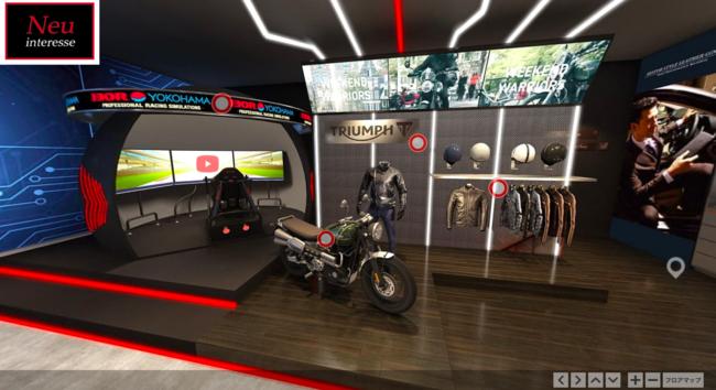 TRIUMPHのバイクやグッズの紹介、130R YOKOHAMAのレーシングシュミレーターの情報もご覧頂けます。