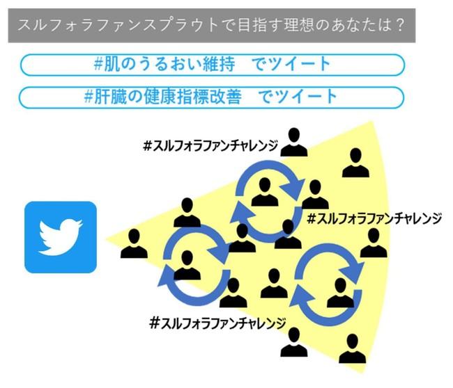 Twitter情報拡散イメージ