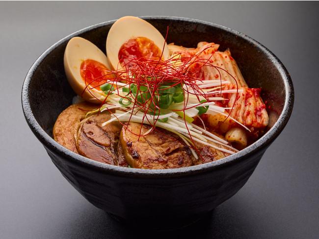 炙りチャーシュー丼(580円)|辛麺 華火|飯田橋