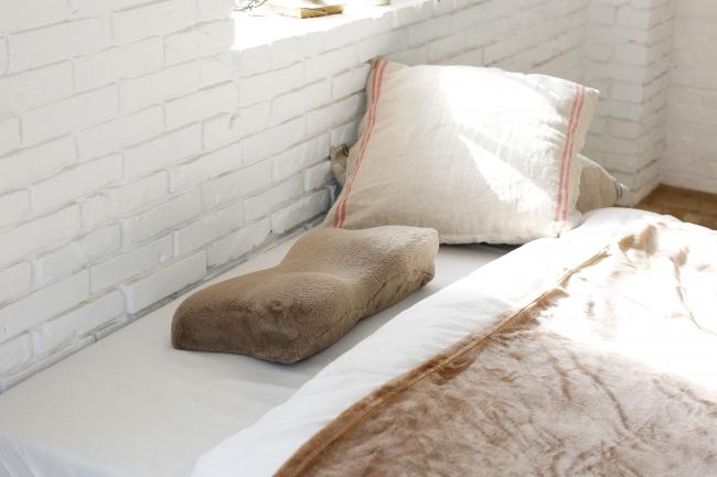 「うっとり素材の枕カバー&すやすや快眠枕セット」
