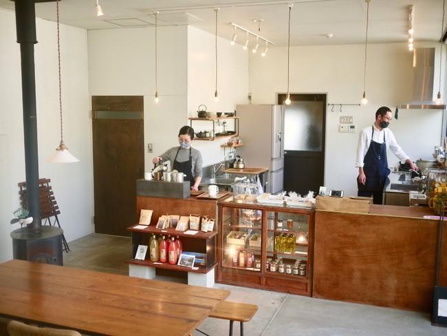 登山口にあるカフェ Basecamp Coffee