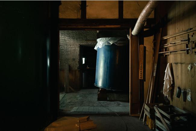 写真4 ) 旧杉の森酒造 内観