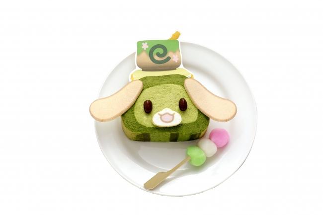 かぷえもんの抹茶ロールケーキ 600円(税込)