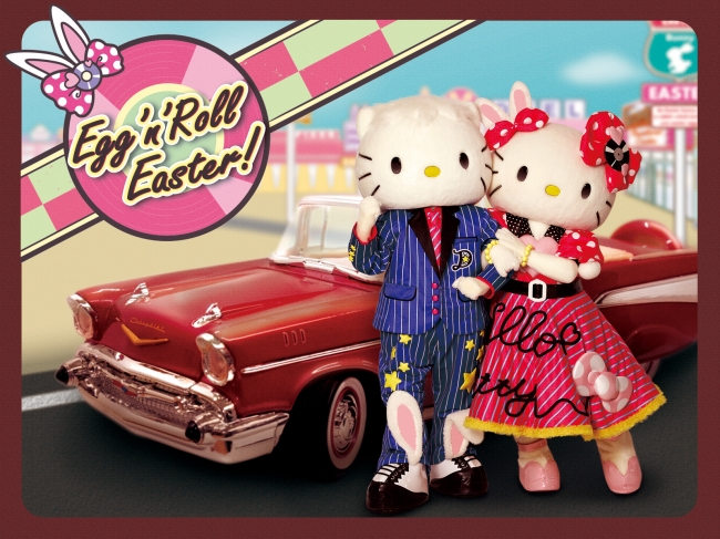 「Egg'n'Roll Easter!」ビジュアル