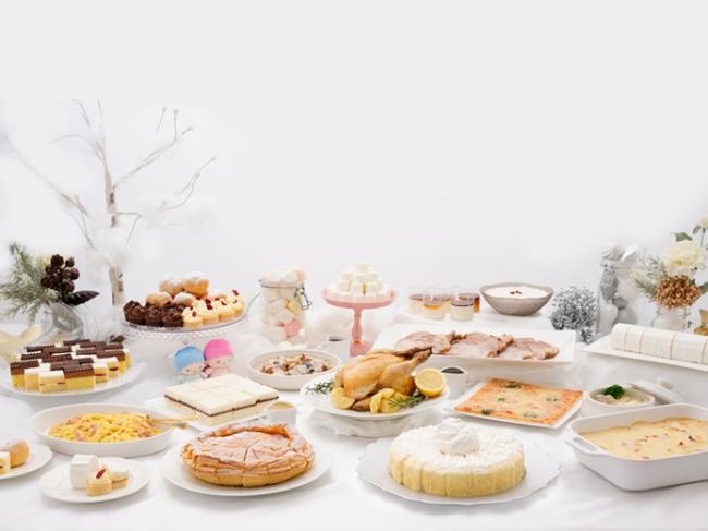 館のレストラン クリスマスビュッフェメニュー(イメージ)