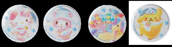 缶バッジ 全6種 (各550円)