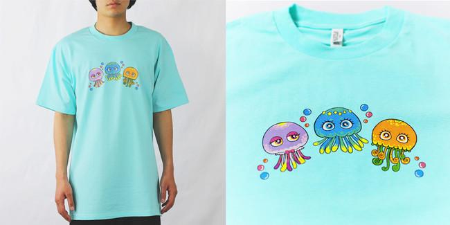 【Tシャツ】各サイズ:3,850円(税込)