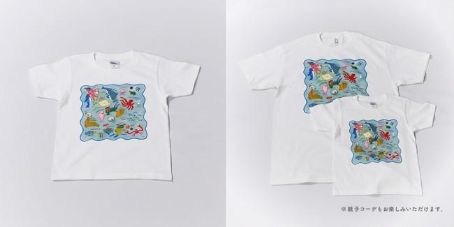 【キッズTシャツ】各サイズ:3,850円(税込)