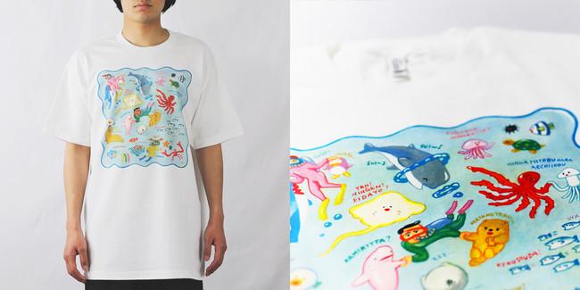 【Tシャツ】各サイズ:4,400円(税込)