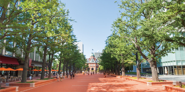 現実の「札幌市北3条広場」