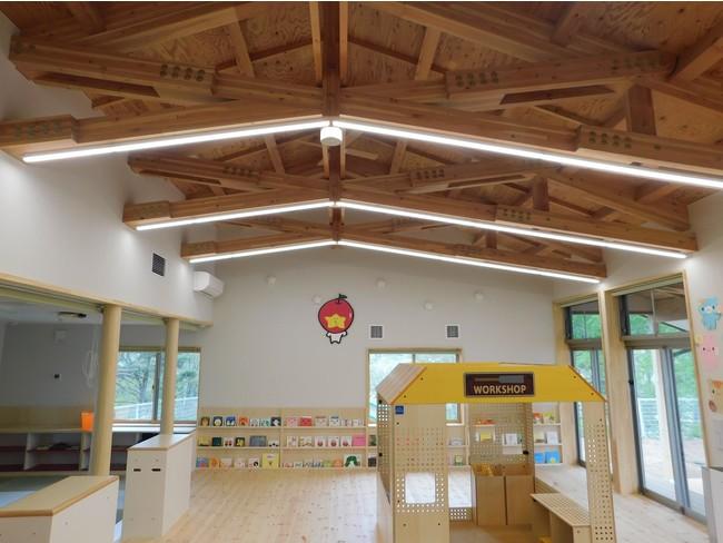 1階子育て支援センター プレイルーム