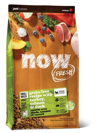 さらにおいしく、お腹に優しくリニューアルする『NOW FRESH(TM)』の新パッケージ ----スモールブリード アダルト(成犬用小粒タイプ)