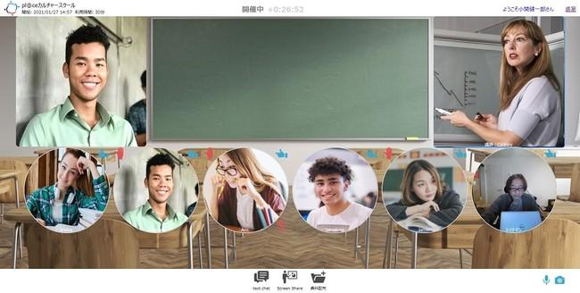 仮想空間タイプ『教室』