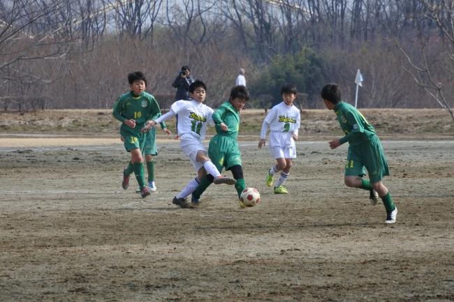 2月10日に行われた1部予選リーグの様子